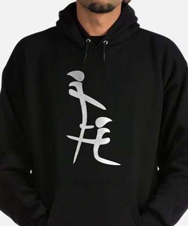 Chinese Symbol - Blowjob Hoodie (dark)
