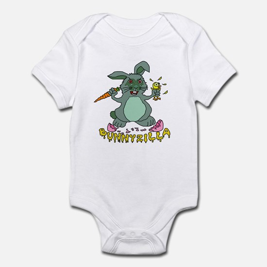 Bunnyzilla Easter Bunny Infant Bodysuit