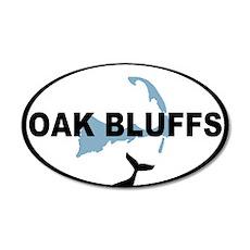 Oak Bluffs MA - Oval Design. 22x14 Oval Wall Peel