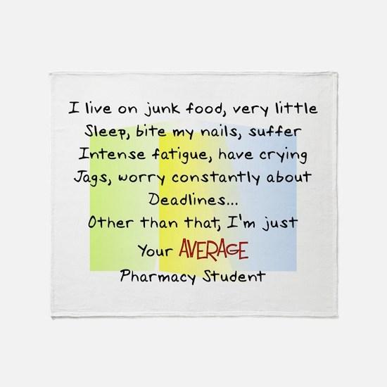 PharmD Student Throw Blanket