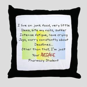 PharmD Student Throw Pillow