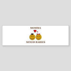 Biracial Babies/ Biracial Pride Bumper Sticker