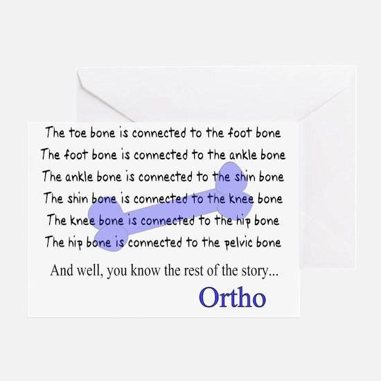 Orthopedics Greeting Card