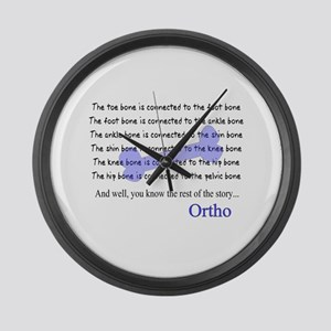 Orthopedics Large Wall Clock