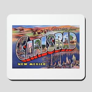 Carlsbad New Mexico Greetings Mousepad