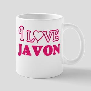 I Love Javon Mugs