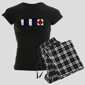 aAf Women's Dark Pajamas