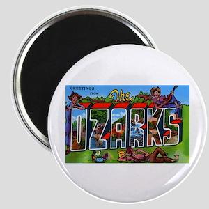 Ozarks Arkansas Greetings Magnet