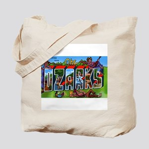 Ozarks Arkansas Greetings Tote Bag