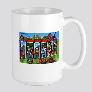 Ozarks Arkansas Greetings Large Mug