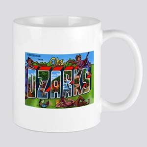 Ozarks Arkansas Greetings Mug