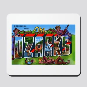 Ozarks Arkansas Greetings Mousepad