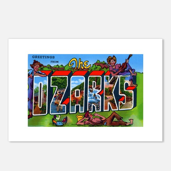 Ozarks Arkansas Greetings Postcards (Package of 8)