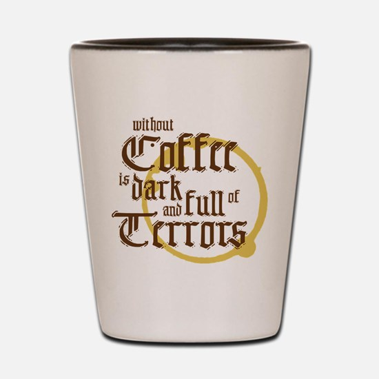 Without Coffee Shot Glass