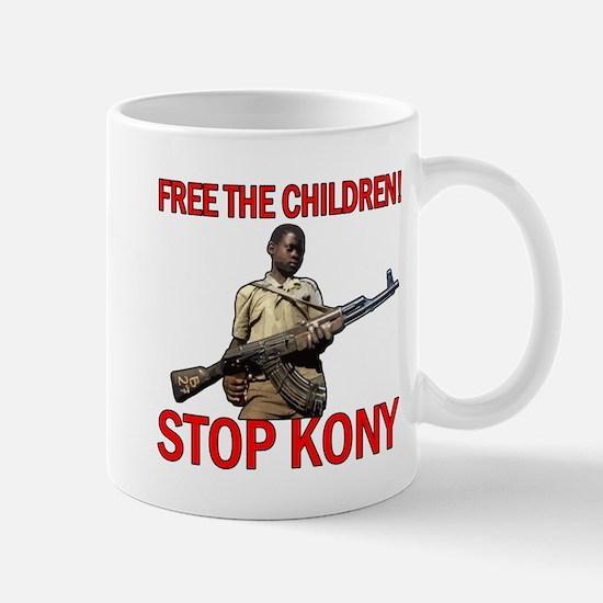 Free The Children 2012 KONY Mug