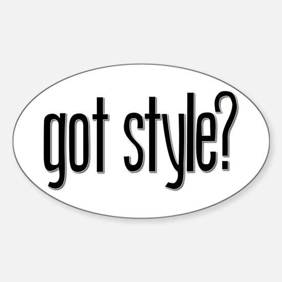 Got Style? Oval Decal