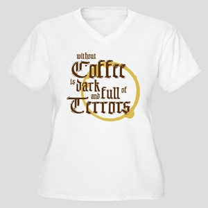 Without Coffee Plus Size T-Shirt