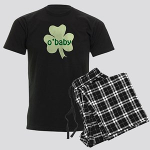 O'Baby Shamrock Men's Dark Pajamas