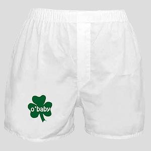 O'Baby Shamrock Boxer Shorts