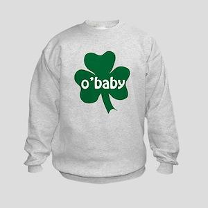 O'Baby Shamrock Kids Sweatshirt