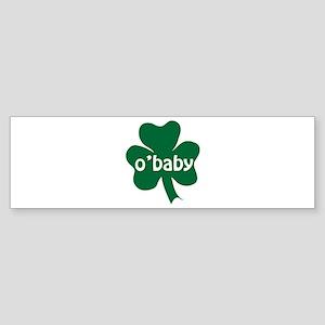 O'Baby Shamrock Sticker (Bumper)