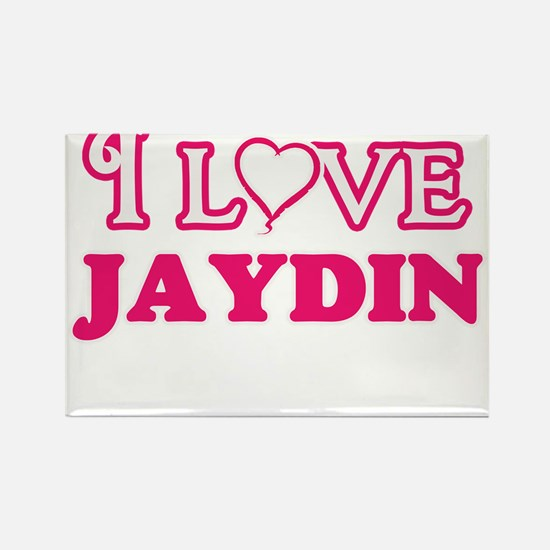 I Love Jaydin Magnets