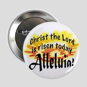 """Alleluia! 2.25"""" Button"""