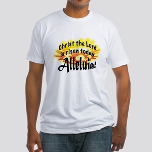 Alleluia! Fitted T-Shirt