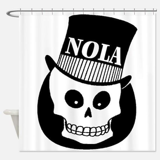 NOLa Sign Shower Curtain