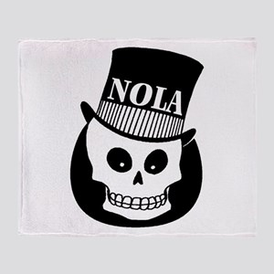 NOLa Sign Throw Blanket