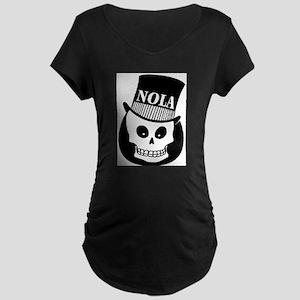 NOLa Sign Maternity Dark T-Shirt