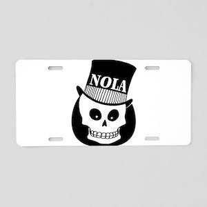 NOLa Sign Aluminum License Plate
