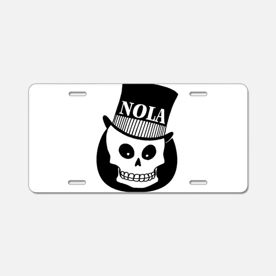 NOLa Sign Aluminum License Plate