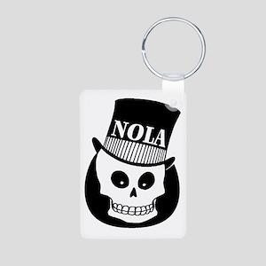 NOLa Sign Aluminum Photo Keychain