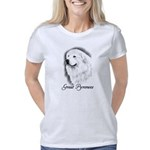 Great Pyrenees Breed Charc Women's Classic T-Shirt