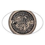 Original Meter Cover Sticker (Oval 50 pk)