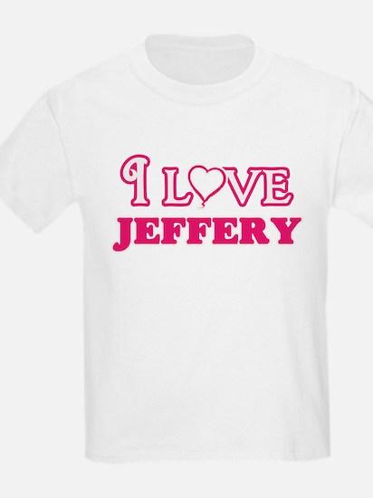 I Love Jeffery T-Shirt