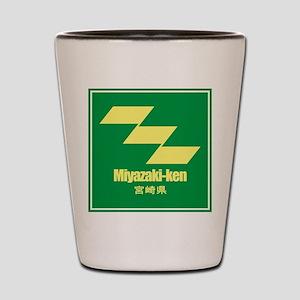 """""""Miyazaki-ken"""" Shot Glass"""