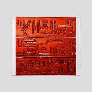 Hieroglyphs20160329 Throw Blanket