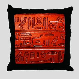 Hieroglyphs20160329 Throw Pillow