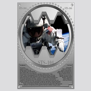 STS 104 Shuttle Mission Poster Large Poster