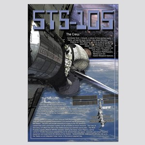 STS 105 Shuttle Mission Poster Large Poster
