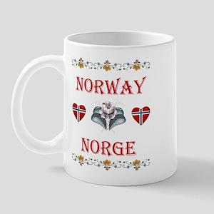 Norway - Norge Mug