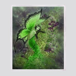 Absinthe Fairy Throw Blanket
