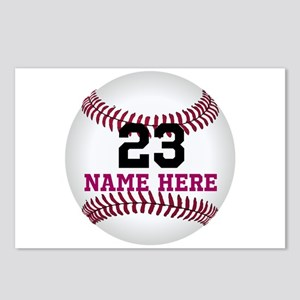 Baseball Player Name Numb Postcards (Package of 8)