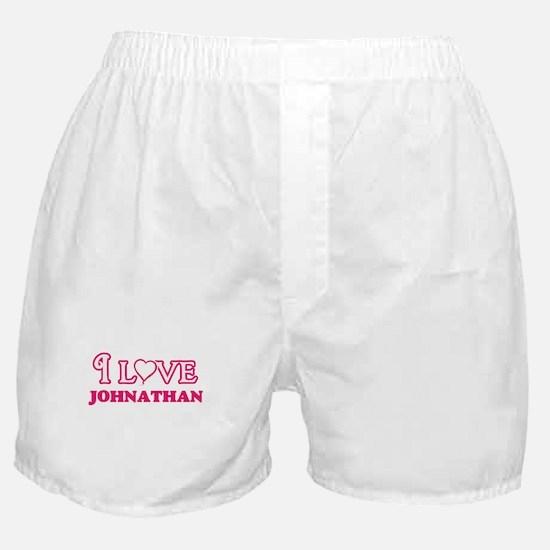 I Love Johnathan Boxer Shorts