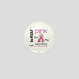 I Wear Pink 43 Breast Cancer Mini Button