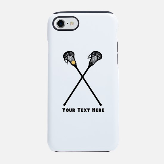 Lacrosse Player Customized iPhone 7 Tough Case