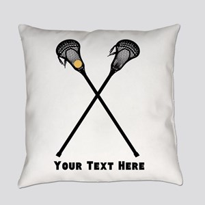 Lacrosse Player Customized Everyday Pillow