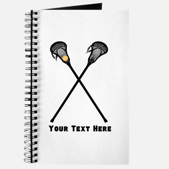 Lacrosse Player Customized Journal